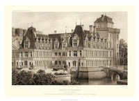Sepia Chateaux IV Giclee