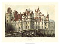 French Chateaux VII Giclee