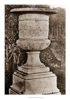 Versailles Urn II Framed Print