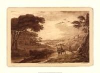 Pastoral Landscape VII Giclee