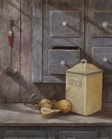 Spice Pears Fine Art Print