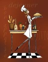 Sassy Chef I Fine Art Print
