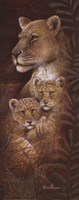 Serengeti Twins Fine Art Print