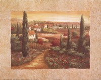 Tuscan Sunset I Fine Art Print