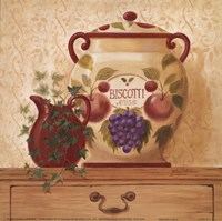Biscotti Jar II Fine Art Print