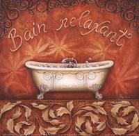 Bain Relaxant Framed Print