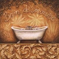 Bain de Mousse Framed Print