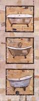 Vintage Tubs I Fine Art Print