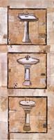 Vintage Sinks I Fine Art Print
