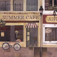 Summer Cafe Fine Art Print