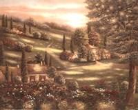 Evening in Tuscany I Fine Art Print