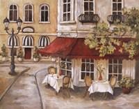 Daytime Cafe II Framed Print