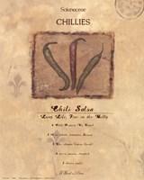 Chili Salsa Fine Art Print