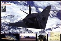 Airplane F-117 Nighthawk Fine Art Print