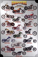 Motorcycle - Choppers Wall Poster