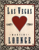 Martini Lounge Fine Art Print