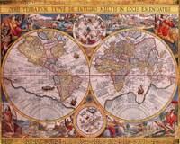 Map - Orbis Terrarum Fine Art Print