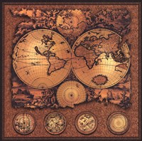 Map - Cartographica 3 Fine Art Print
