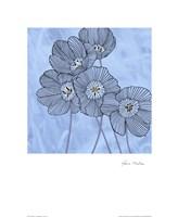 Cosmopolitain Blue I Fine Art Print