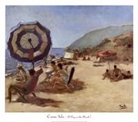 A Day on the Beach I Fine Art Print