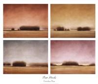Four Moods Fine Art Print