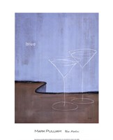 Blue Martini Fine Art Print