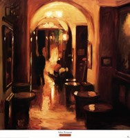 Italian Restaurant Fine Art Print