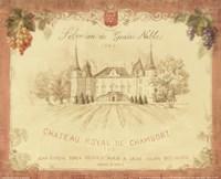 Chateau Royal de Chambort Framed Print