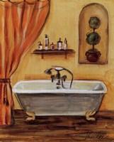 Tuscan Bath I Framed Print