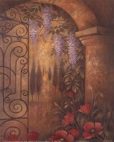 Wisteria Garden II Fine Art Print
