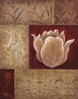 Patchwork Tulip Fine Art Print
