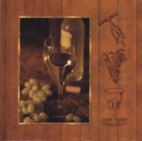 A Fine Wine II Framed Print