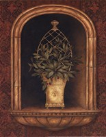 Olive Topiary Niches II - special Fine Art Print