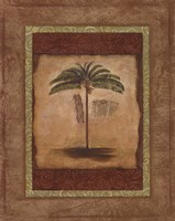 Palm Botanical Study II - special Framed Print