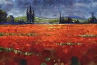 Spring Meadows II - Cut Fine Art Print