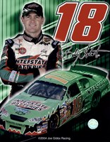 2005 Bobby Labonte collage- car, number, driver and signature Fine Art Print