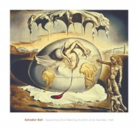 Geopoliticus Child Watching the Birth of the New Man, c.1943 Fine Art Print