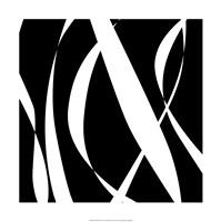 Fistral Nero Blanco III Framed Print