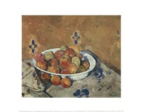 The Plate of Apples, c. 1897 Fine Art Print