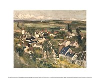Auvers, Panoramic View, c.1873 Fine Art Print