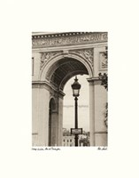 Lamp Inside Arc de Triomphe Fine Art Print