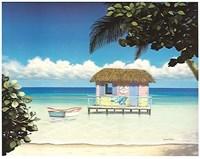 Island Hut Fine Art Print