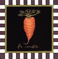 La Carotte Framed Print