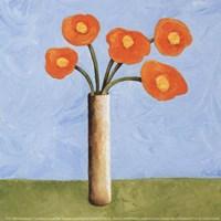 Marmalade Bouquet I Fine Art Print