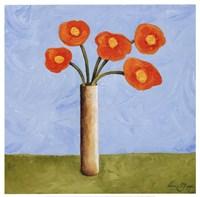 Marmalade Bouquet I Framed Print