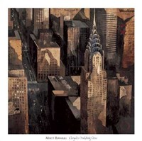 Chrysler Building View Fine Art Print