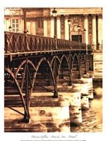Ponts des Arts - Dtail Framed Print