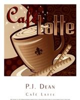 Caf Latte Framed Print