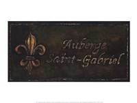 Auberge Saint-Gabriel Fine Art Print