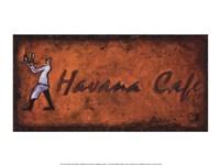 Havana Cafe Fine Art Print